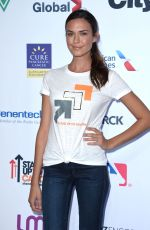 ODETTE ANNABLE at 5th Biennial Stand Up To Cancer in Los Angeles 09/09/2016