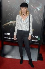 OLIVIA HOLT at Halloween Horror Nights Opening in Universal City 09/16/2016
