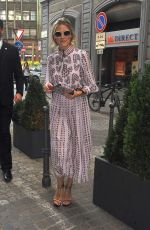 OLIVIA PALERMO Out at Milan Fashion Week 09/23/2016