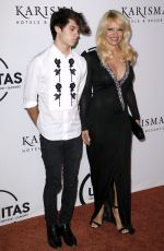 PAMELA ANDERSON at Unitas 2nd Annual Gala Against Human Trafficking in New York 09/13/2016