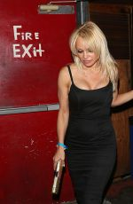 PAMELA ANDERSON Leaves a Concert in West Hollywood 09/26/2016