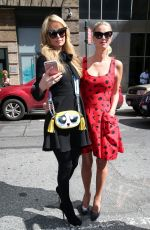 PARIS and NICKY HILTON Out in New York 09/20/2016