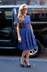 PARIS HILTON Arrives at Her Apartment in New York 09/14/2016