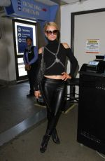 PARIS HILTON at LAX Airport in Los Angeles 09/07/2016