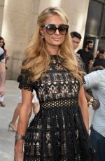 PARIS HILTON Out and About in New York 09/08/2016