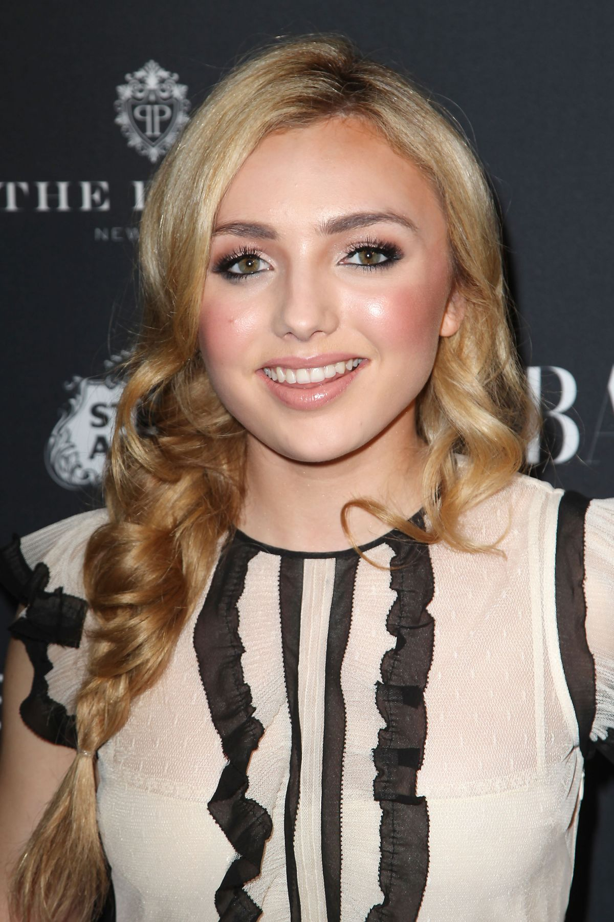 PEYTON LIST at Harper