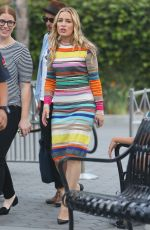 PIPER PERABO on the Set of Extra at Universal Studio 09/19/2016
