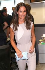 PIPPA MIDDLETON at BGC Annual Global Charity Day at Canary Wharf in London 09/12/2016