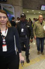 PIXIE LOTT at Riogaleao International Airport in Brazil 09/25/2016