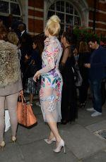 PIXIE LOTT at Temperley Fashion Show at London Fashion Week 09/18/2016