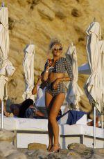 PIXIE LOTT in Swimsuit at a Beach in Ibiza 09/21/2016