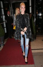 POPPY DELEVINGNE at Charlotte Olympia Spring/Summer 2017 Showcase in London 09/18/2016
