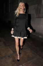 POPPY DELEVINGNE at Love Magazine Party at Lou Lou's in Mayfair 09/19/2016