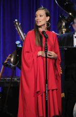 Pregnant OLIVIA WILDE at Friars Club Honors Martin Scorsese with Entertainment Icon Award 09/21/2016