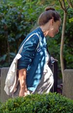 Pregnant OLIVIA WILDE Out and About in New York 09/15/2016