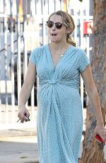 Pregnant TERESA PALMER Out in Los Angeles 09/20/2016