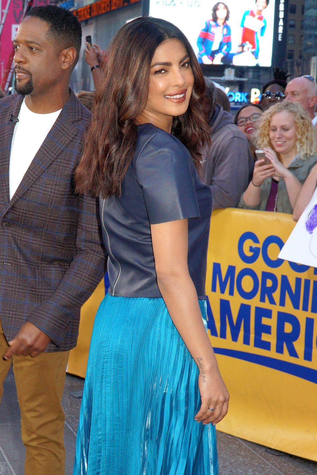 PRIYANKA CHOPRA at Good Morning America in New York 09/23/2016