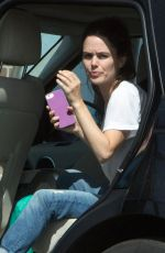 RACHEL BILSON Out for Lunch in Los Angeles 09/20/2016
