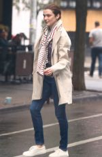 RACHEL WEISZ Out and About in New York 09/01/2016