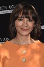 RASHIDA JONES at Revlon's Annual Philantropic Luncheon in Los Angeles 09/27/2016
