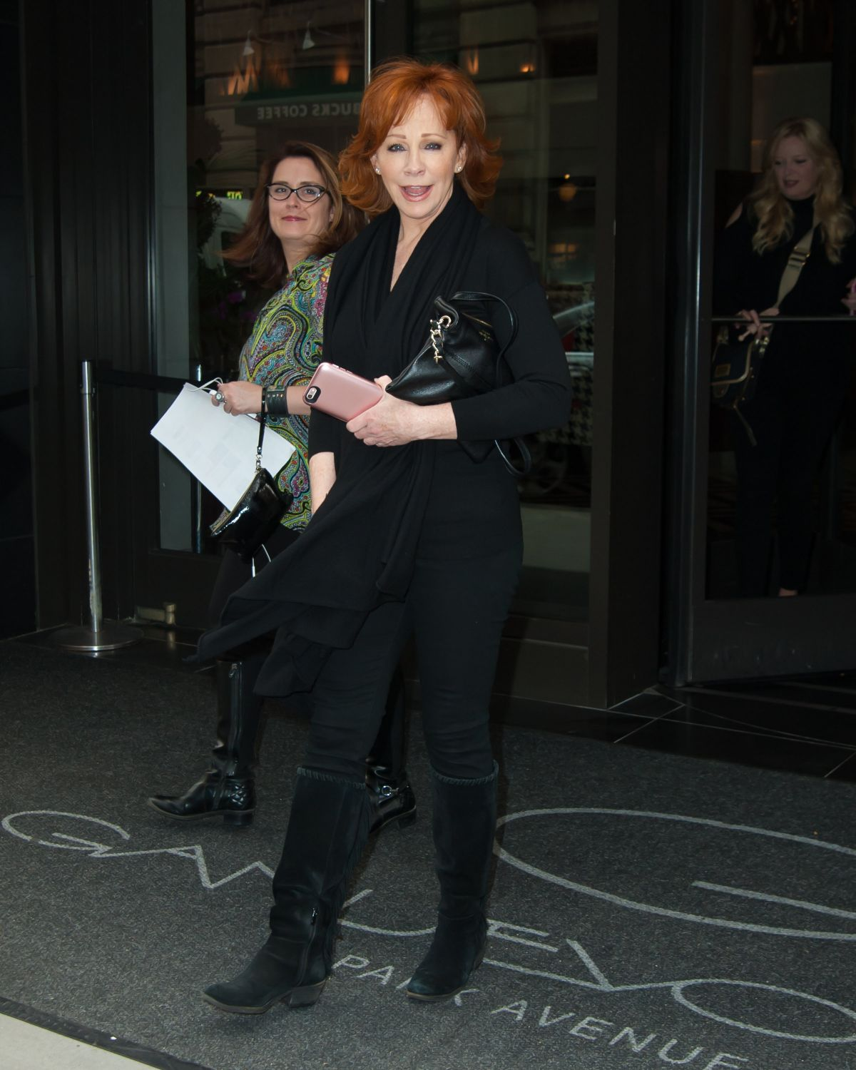 REBA MCENTIRE Out in New York 09/06/2016