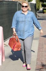 REBEL WILSON Out and About in Beverly Hills 09/06/2016