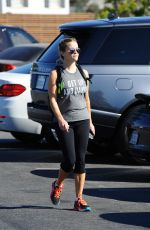 REESE WITHERSPOON After Exercise in Los Angeles 09/15/2016