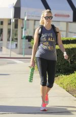 REESE WITHERSPOON Heading to a Gym in Brentwood 09/01/2016