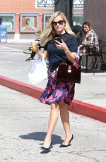 REESE WITHERSPOON Out for Coffee in Brentwood 09/22/2016