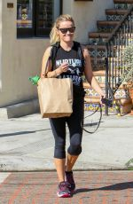 REESE WITHERSPOON Out Shopping in Brentwood 09/20/2016