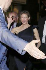 RENEE ZELLWEGER at 'Bridget Jones Baby' Afterparty at Aqua in London 09/06/2016