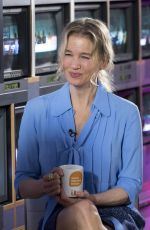 RENEE ZELLWEGER at Good Morning Britain in London 09/05/2016