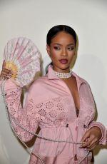 RIHANNA at Fenty x Puma by Rihanna Fashion Show at Paris Fashion Week 09/28/2016