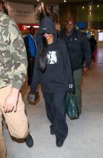 RIHANNA at Rossy-Charles-de-Gaulle Airport 09/25/2016
