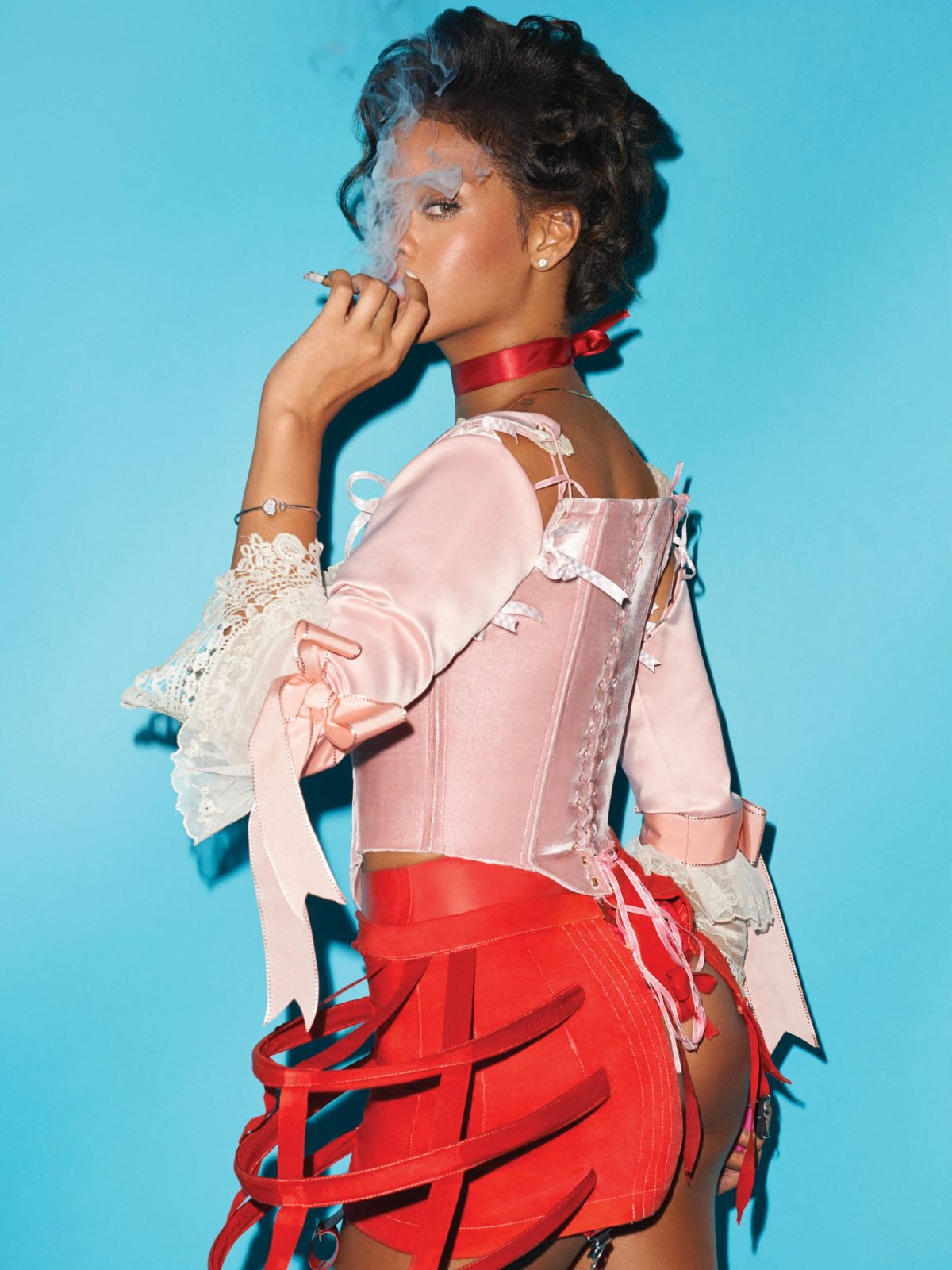 RIHANNA by Terry Richardson for CR Fashion Book, Fall/Winter 2016
