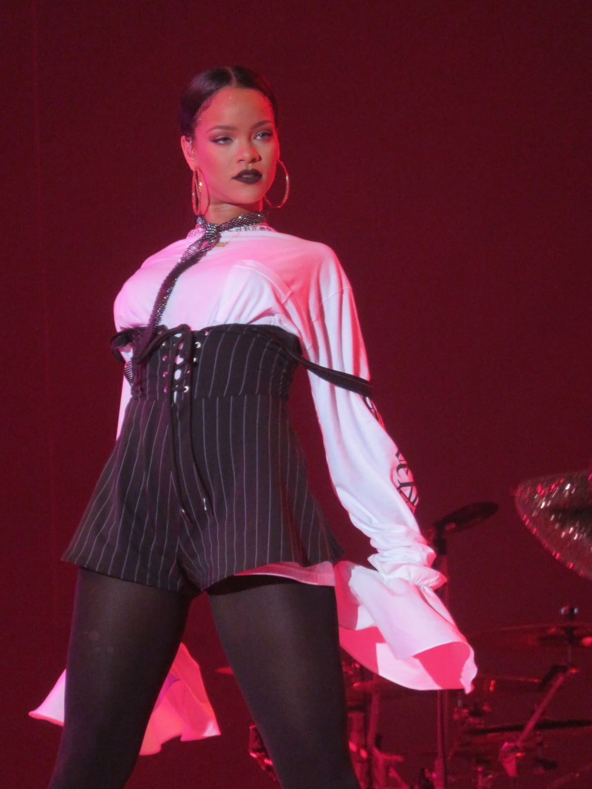 RIHANNA Performs at Global Citizen Festival in Central Park in New York 09/24/2016