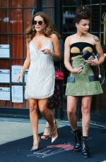 RILEY KEOUGH Leaves Bowery Hotel in New York 09/13/2016