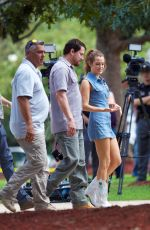 RILEY KEOUGH on the Set of