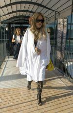 RITA ORA Leaves Hotel Veronesi in Verona 09/20/2016