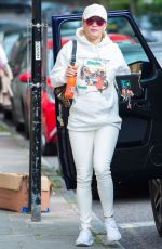 RITA ORA Out and About in London 09/12/2016