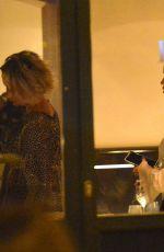 RITA ORA Out for Dinner at Pierluigi Restaurant in Rome 09/02/2016