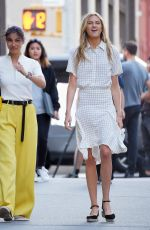 ROMEE STRIJD on the Set of a Photoshoot in New York 09/04/2016