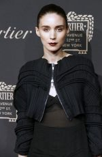 ROONEY MARA at Cartier Store Grand Reopening on Fifth Avenue in New York 09/07/2016