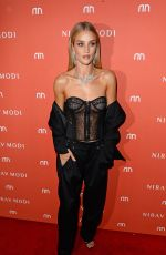 ROSIE HUNTINGTON-WHITELEY at Nirav Modi Store Opening at London Fashion Week 09/19/2016