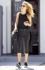 ROSIE HUNTINGTON-WHITELEY Leaves Body by Simone in West Hollywood 09/01/2016