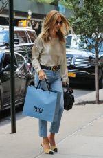 ROSIE HUNTINGTON-WHITELEY Out Shopping in Soho 09/16/2016