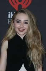 SABRINA CARPENTER at 2016 IheartRradio Music Festival in Las Vegas 09/24/2016
