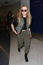 SABRINA CARPENTER at LAX Airport in Los Angeles 09/19/2016