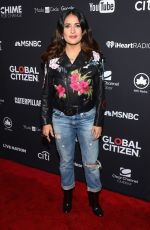 SALMA HAYEK at 2016 Global Citizen Festival in New York 09/24/2016