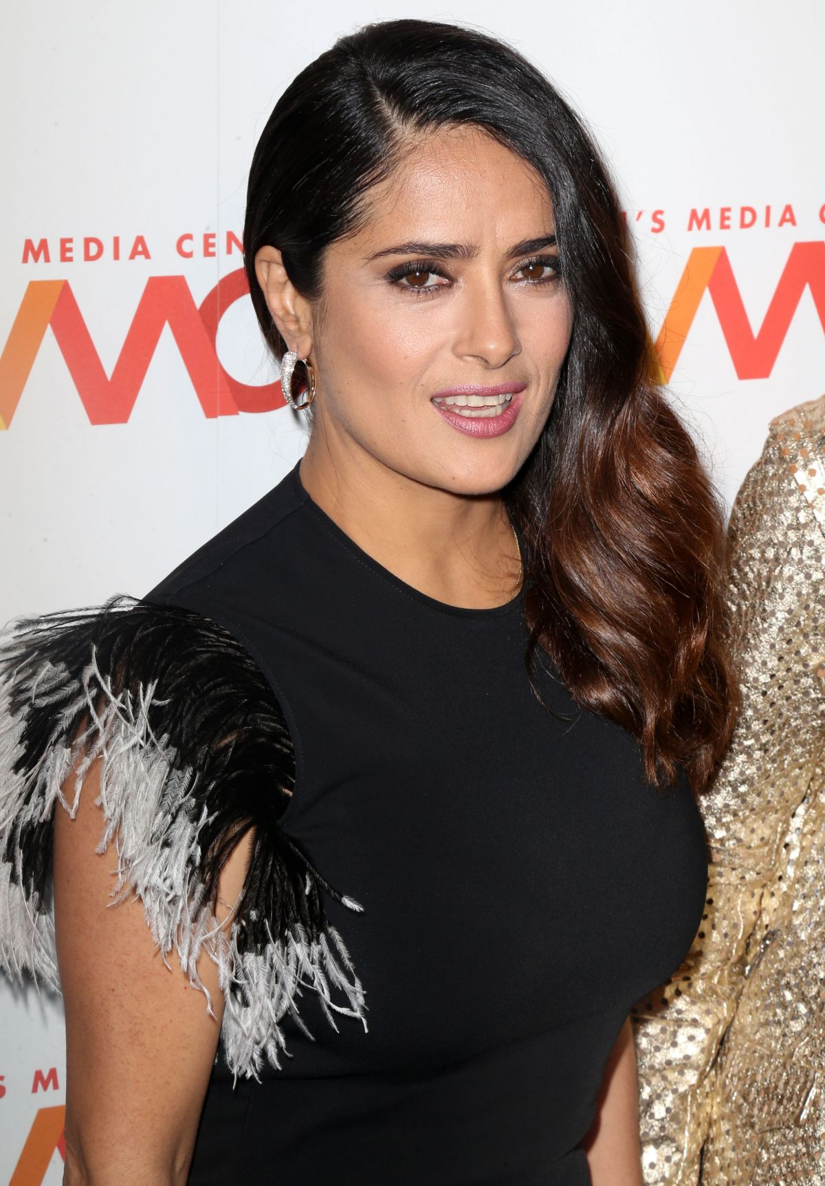 SALMA HAYEK at 2016 Women's Media Center Awards in New York 09/29 ...